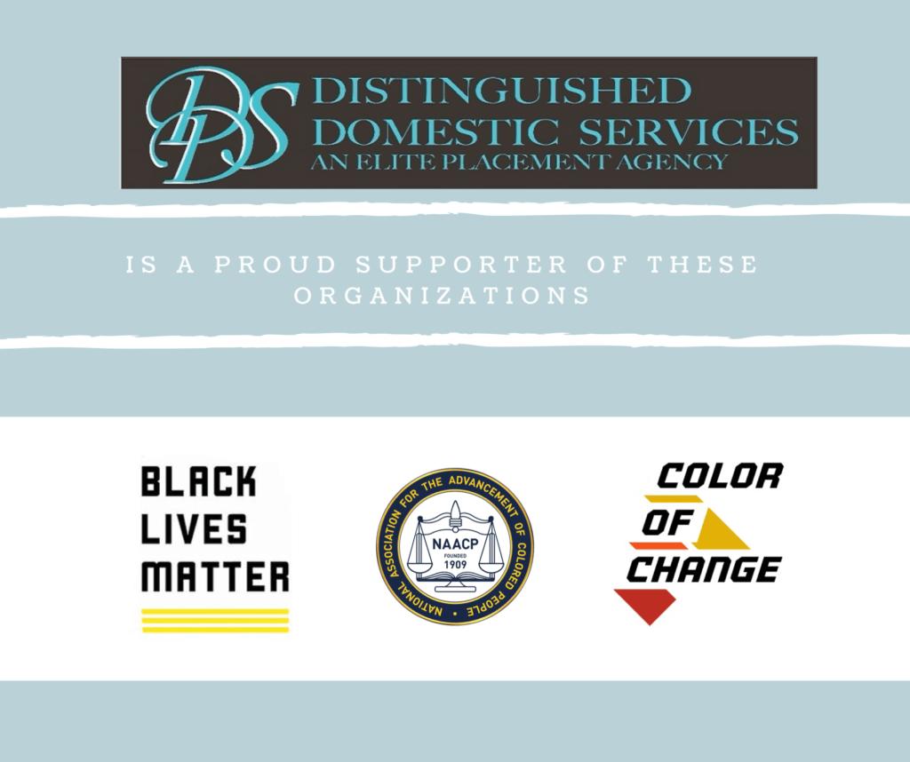 Distinguished Domestics Charitable Donations