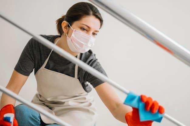 FreePic Housekeeper Covid Photo